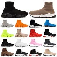 مصمم الجوارب الرجال النساء أحذية رياضية موضة أحذية أسود أبيض أحمر بريق أخضر وردي شقة رجل المدربين عداء منصة