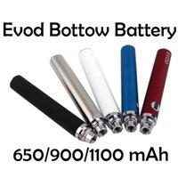 2020 Кнопка Evod Кнопка Регулирующая батарея 3,3 В 3.7 В 4,2 В 650 мАч Vape Батарея Эго E Сигареты Hot