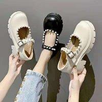 Dress Shoes Lolita Casual Women Sneakers Sweet Kawaii Pink Fashion Student White Platform Cute College Loli 2021 High Heels Pumps