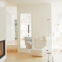 4 unids decorativo autoadhesivo de azulejo mosaico mosaico espejo espejo espacio cuadrado bricolaje decoración domiciliaria decoración pegatinas 30x30cm y200103 750 k2