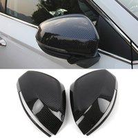 For VW Volkswagen Tiguan MK2 2017-2021 Car Accessories Side Rearview Mirror Cover Chrome Case Visor Sticker Frame Decoration
