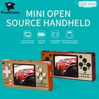 Powkiddy Q20 Mini Game Consoles Open Source 2.4 Inch Oca Volledige Fit Ips Screen Handheld Retro PS1 Nieuwe Games Players Spelers kinderen Geschenken for kids Gifts