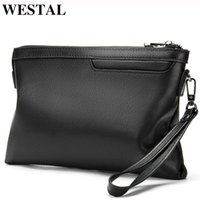 Wallets WESTAL Genuine Leather Wallet Male Men's For Holder Clutch Bags Coin Purse Men Casual Portmonee 8697