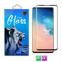 Tempered Glass Screen Protector For Samsung Galaxy S21 ultra S20 plus S9 Note 20 10 Case Friendly Full Edge 3D Curved With Retail Box