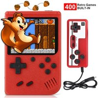 Portable Game Players 2021 400 IN 1 Player Mini Handheld Retro Console 8 Bit Built-in Gameboy 3.0 Inch Color LCD Screen Box