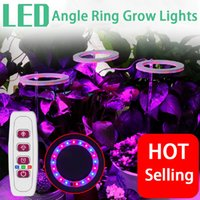 Full-Spectrum LED Grow Lights USB-5v Lead Round Angel Ring Succulent Fill Lamp Dimmable Indoor Lighting Anti-Splendid Coloring Greenhouse Plant Growth Light
