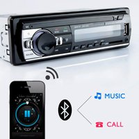 Radio Car Stereo Player Digital Bluetooth MP3 60Wx4 FM Audio Music USB SD With In Dash AUX Input