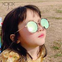 النظارات الشمسية Xoojox غير النظامية أطفال بنات الفتيان خمر نظارات الشمس في الهواء الطلق النظارات الزخرفية الأزياء الأطفال النظارات