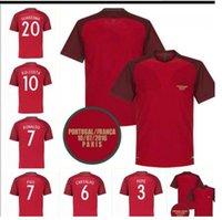 RONALDO NANI RETRO soccer jerseys 2016 FIGO CARVALHO classic camicia RUI COSTA football shirt vintage QUARESMA Camisa de futebol home red