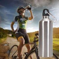 Garrafa de água 2021 Outdoor de alta qualidade 750ml de aço inoxidável boca larga beber esportes de esportes chaleira #ew