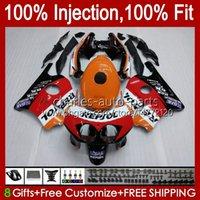 Corps d'injection pour Honda CBR 250R 250R CC CBR250RR 90 91 92 93 94 95 96 97 98 99 111HC.0 250CC MC22 CBR250 RR 1990 1991 1996 1996 1997 1998 1998 1999 Catériel Repsol Orange