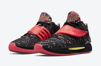 أعلى جودة KD 14 KY D أحذية للبيع سايبر المنزل أبيض أسود كرة السلة الأحذية متجر اون لاين u7-US12