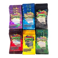 Empty danks gummies mylar bags zipper lock edibles packaging bag 500mg smell proof candy packing In stock