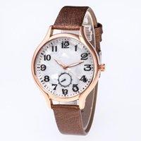 Relojes de pulsera Reloj de esfera de cuarzo de cuero Reloj de pulsera 2021 Moda Mujeres Relojes Mármol Patrón de impresión de mármol tejido Wholesale Fi