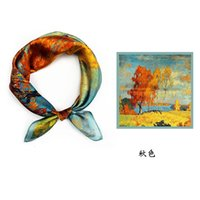 Silk Women: Hangzhou Scarves for Sun Neck Protection in Spri...