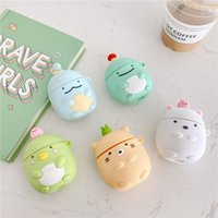 For Apple AirPods 2 1 Cartoon Protective PVC Case Shockproof Earphone Charging Box Cover