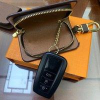 Designer Luxury Car Keychains Buckle Bag for Women Men Designers Lover Handmade Leather Keychain Holder key rings chain Pendant Accessories