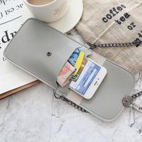 Storage Bags Touch Screen Purse Wallet Leather Shoulder Strap Handbag Women Bag DHD7546