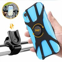 Cell Phone Mounts & Holders Silicone Anti-Slip Bicycle Holder Universal Mountain Road Bike Mobile Mount Motorcycle Handlebar GPS Stand Brack