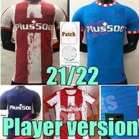 21 22 플레이어 Atletico 축구 마드리드 유니폼 버전 멀리 멀리 3 그레이즈 만 펠릭스 Camisetas de Fútbol 수arez Correa Jersey 남자 성인 2021 2022 축구 셔츠