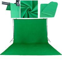 3 * 1.6m 5 x 10 pies Fondo de fotografía Material Pantalla verde CHROMA CLAVE PHOTO Sesión de fondo Fondo de fondo de estudio