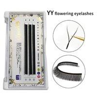 False Eyelashes YY Shape Volume Fans Eyelash Extensions Individual 0.07mm Thickness Double Tip Fluffy Mink Lash Lashes