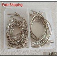 Hook 50pcs Combo Deal C Tipo Cabelo Weave Weave Reparação de lona de tecelagem Curved Sewing Agulhas Pins 30pcs 25inch 20 pcs 3inch vkfca dsslk