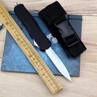 New Tactical Wire Double Knife A07 Azione Azione Azione Frontale Bordo Automatico Guaina Automatico con lama EDC 440C SAFFE