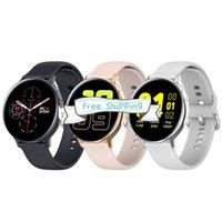 Stock S20 Smart Watch Tension sanguine Récompense cardiaque IP68 imperméable SmartWathes SmartWathes Fitness Tracker Sport Bracelets intelligents avec boîte de vente au détail