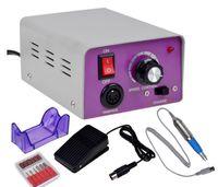 Máquina de polimento de manicure elétrico, esmalte, esmalte, máquina de polimento de caixa preta, cabeça de polimento cerâmica, shell cinzento, botto roxo