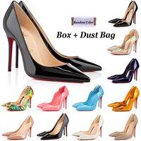 Red Bottom Heels Damen Kleid Schuhe Designer So Kate High Heel 8cm 10cm 12cm Round Point Toe Pumps Loafers