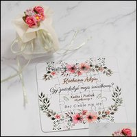 Greeting Event Festive Party Supplies Home & Gardengreeting Cards Personalized Puzzle Invitation Card Wedding Bridesmaid Groomsman Proposal