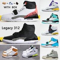 2021 Jumpman Ultime Legacy 312 Scarpe da basket Designer NRG Pure Bianco Mens High Knicks Lakers Pistoni Athletic Sport Sneakers Salto Man Designers Scarpers