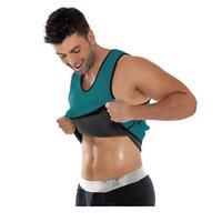 Men's Body Shapers Plus Size S-3XL Waist Trainer Corsets Men Vest Bodyshaper Corset Slimming Belt Cincher Shaper