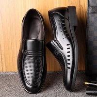Luxury Formal Shoes Business Oxford Leather Shoes Men Breathable Rubber Dress Shoes Male Office Wedding Flats Mocassin Homme 44