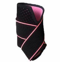 1 PC Ajustável Pressurizar Apoio ao tornozelo Ankle Brace Protetor Ao Ar Livre Esportes Futebol Retentor de Futebol Cinto de reparação