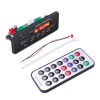 Parts Wireless Bluetooth 5.0 MP3 WMa Decoder Board Remote Control Player 12V USB FM AUX TF SD Card Module Car Radio Speaker