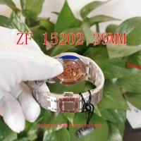 ZF Фабрика Супер версию Часы 39 мм х 8,5 мм 15202 Jumbo Extra-Thift 904 сталь CAL.2121 Движение механические автоматические мужские часы мужские наручные часы