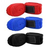 Handgelenkstütze 2 stücke 5m Baumwolle Hand Wraps Muay Thai Boxen Handwrap Bandagen Training Gewichtheben Armband Strap Protector