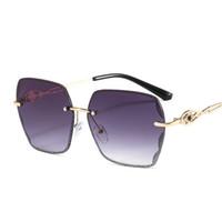 Occhiali da sole con diamanti tagliato senza telai Ladies Wild Brand Brand DAZZLE Colori Nuovi prodotti Fabbrica Direct Sunglasses 7146 Occhiali da sole per donna