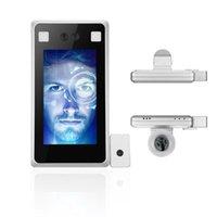 Sistema de reconocimiento facial Cámara Scanner térmico Smart Face Temperatura Cuerpo Pantalla Puerta Control de acceso