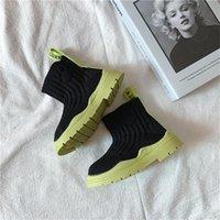 الأحذية capsella أطفال الأزياء الكاحل 2-12 سنوات الفتيان الفتيات محبوك أحذية تنفس الربيع الخريف الصيف الأطفال 26-36