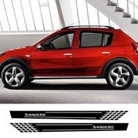 Для Renault Dacia Sandero Stepway R4 XPLORE TechRoad Streetway Comfort Авто аксессуары 2 ШТ. Автомобильные наклейки Виниловые пленки