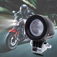 12 V-24 V 10 W Su Geçirmez Yuvarlak LED Işık Dayanıklı Motosikletler Far Dışbükey Lens Tasarım Kamyon Sürüş Araba Tekne Çalışma Işığı
