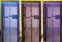 Cortina da janela de tela magnética Anti - Mosquito Quarto Alto - Grau Ímã Suave Cortina de Porta Sala de Estar Sheer Cortinas