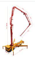 KDW دييكاست سبيكة مضخة الخرسانة شاحنة سيارة نموذج لعبة، السيارة الهندسية، 1:55 مقياس، ل هدية عيد ميلاد عيد ميلاد عيد الميلاد، وجمع 625025، 2-2