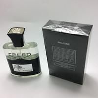 Новый Creed Aventus Perfume для мужчин Кельн 120 мл с длительным временем хорошего запаха качества высокого аромата.