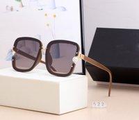 5221 فاخر حار جديد ماركة الاستقطاب مصمم نظارات الرجال النساء نظارات uv400 نظارات نظارات إطار معدني عدسة الشمس النظارات