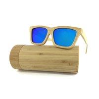 Gafas de sol de la lente de la lente de la lente de la lente del espejo de la alta calidad de China Gafas de sol de encargo de madera de madera3321 polarizadas 2021