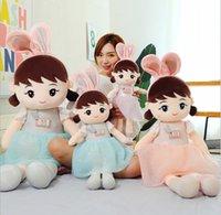 45 cm Ragdoll Plüschspielzeug Nette Kleines Mädchen Puppe Puppenbett Begleiten Schlafende Kissen Kinderspielzeug Geschenke